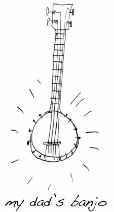 Dad's banjo